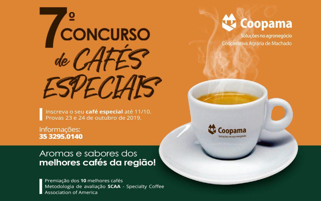 7º Concurso de Cafés Especiais – Coopama