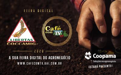 Coopama celebra resultado da participação na Feira Virtual Coccamig Café com TV